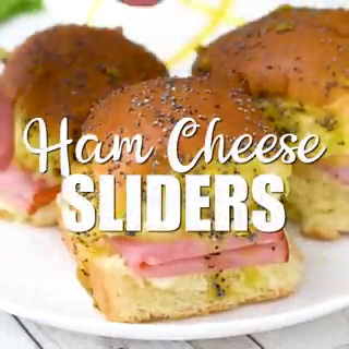 These delicious little ham and cheese sliders are super easy tomake